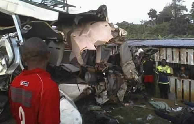 Un accident de circulation faits vingt morts au Cameroun