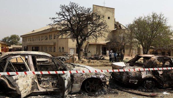 Attentat eglise Nigeria