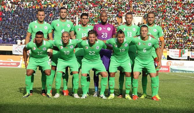 Cameroun24 Net Can 2017 Can 2017 La Liste Des 23 De L Algerie