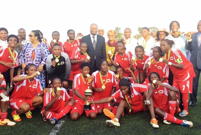Cameroon coupe du cameroun les louves sacr es en coupe du cameroun de football f minin - Coupe europe foot feminin ...