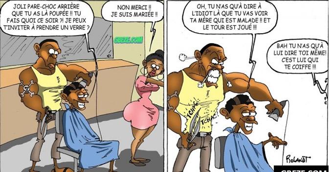 Exceptionnel cameroon :: Humour Un coiffeur pas comme les autres, épisode 2  PU28