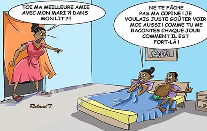 Humour infid lit qui trompe qui - Comment faire plaisir a mon mari au lit ...