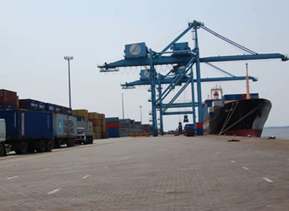 Cameroun transports port de douala de - Site internet du port autonome de douala ...