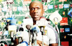 Le coach des Lions Indomptables, Clarence Seedorf reste optimiste