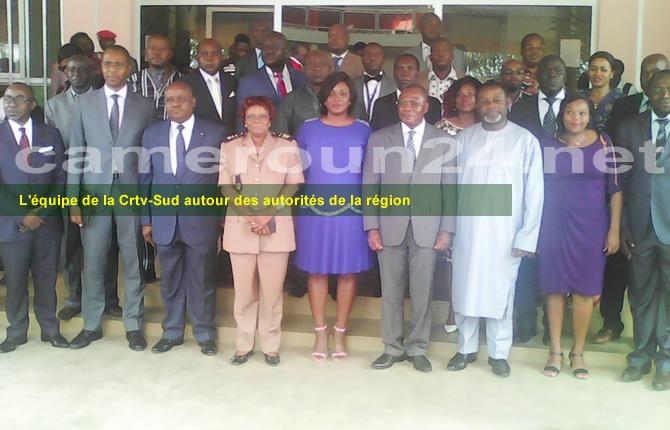 Crtv-Sud_equipe_et_autorites